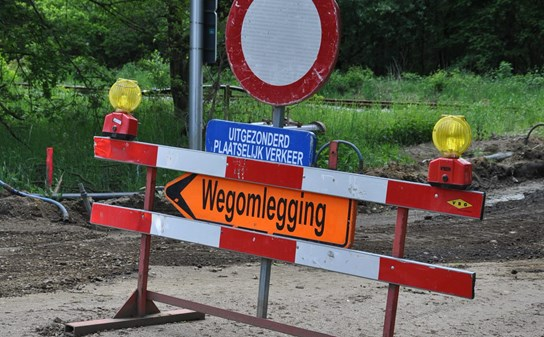 grote weergave Omleiding
